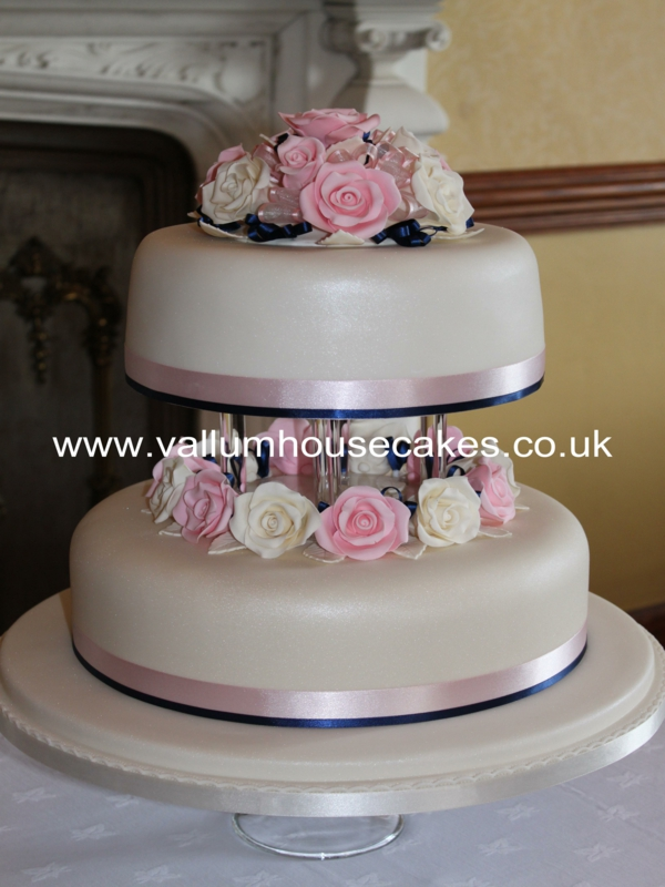 Our Bespoke Wedding Cakes Vallum House Cakes