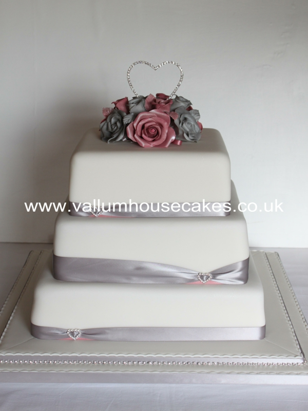 Our Bespoke Wedding Cakes Vallum House Cakes